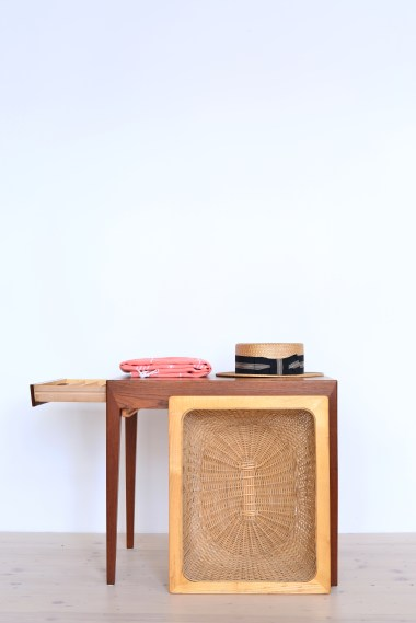 Teak Sewing Table by Severin Hansen for Haslev Møbelsnedkeri - 1950s