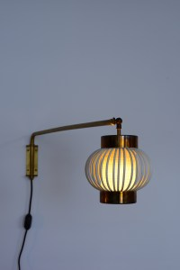 Danish Wall Lamp in Brass heyday möbel