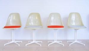 Eames Side Chair with La Fonda Base heyday möbel