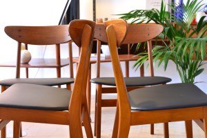 Farstrup Set of Four Dining Chairs heyday möbel