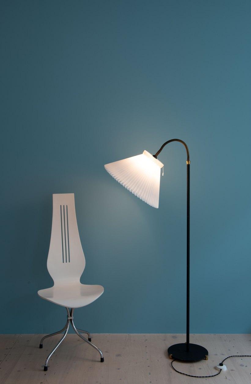 Danish_Le_Klint-Shade_Floor_Lamp_9739