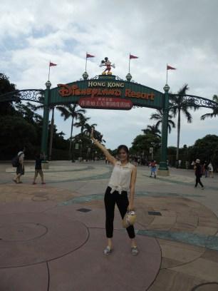 Disney Land gate