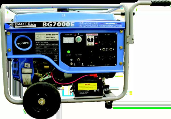 BG7000E portable generator