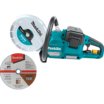 XEC01Z cordless 9 inch power cutter from Makita