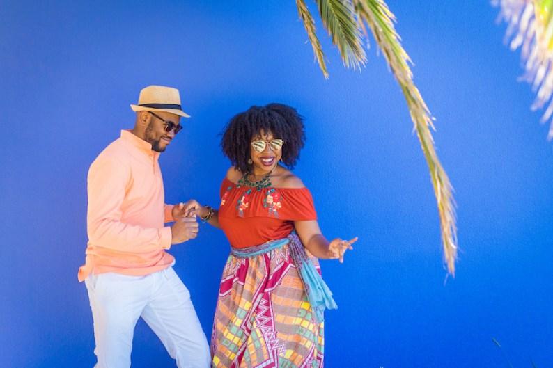 Omo & Eulanda dancing in Madeira, Portugal | © HDYTI