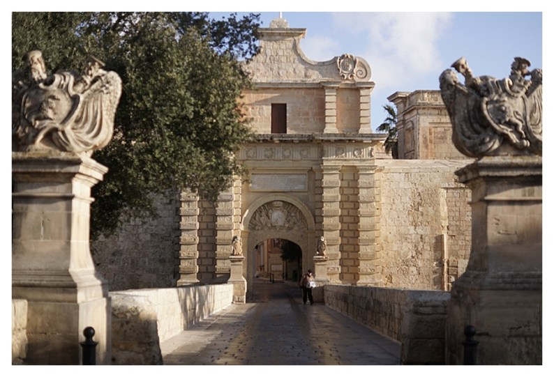 City gates of Mdina, Malta