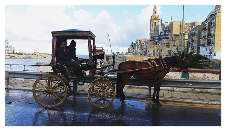 HDYTI take a short buggy ride around Valletta
