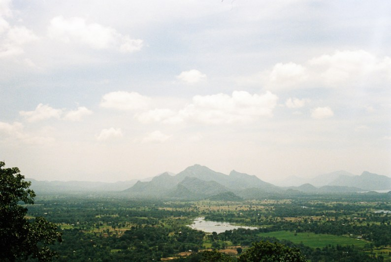 Sigiriya view from atop | Sri Lanka