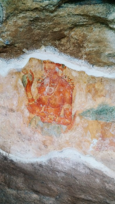 Sigiriya, Frescoes | Sri Lanka