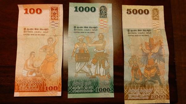 Sri Lankan Rupees