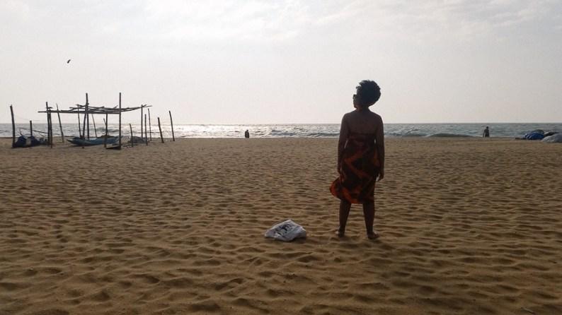 HDYTI WIT series, Eulanda on the beach in Negombo, Sri Lanka