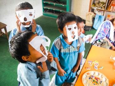 Nepal Adventure School Children