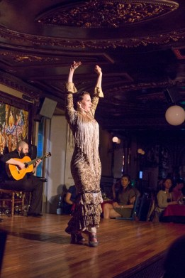 Flamenco at Villa Rosa, Plaza de Santa Ana Madird
