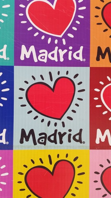 I love Madrid Street Mosaic