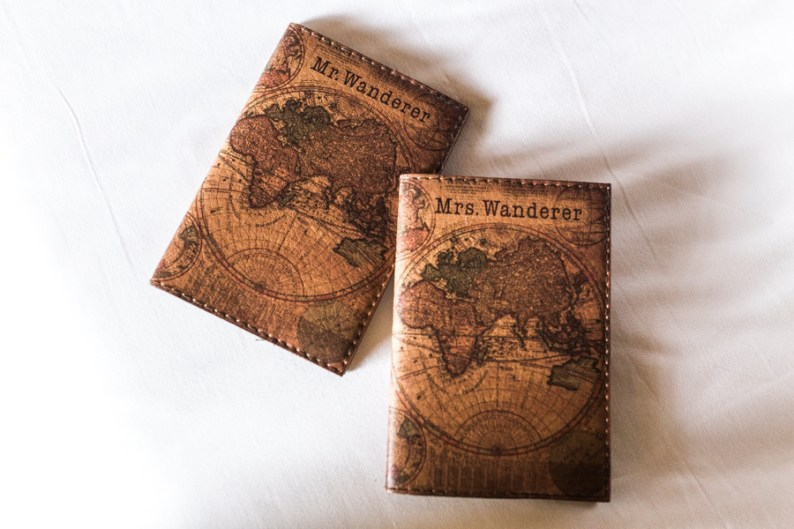 Mr & Mrs Wanderer Passport Holders, Doha | @dipyourtoesin