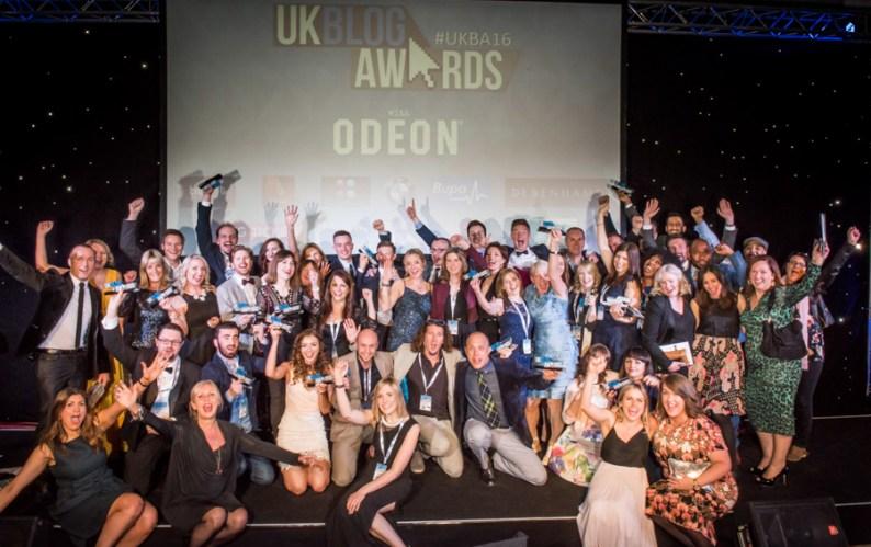 UKBA16 Award Ceremony Winners