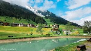 Zug Fischerstüble Arlberg, Austria Alps