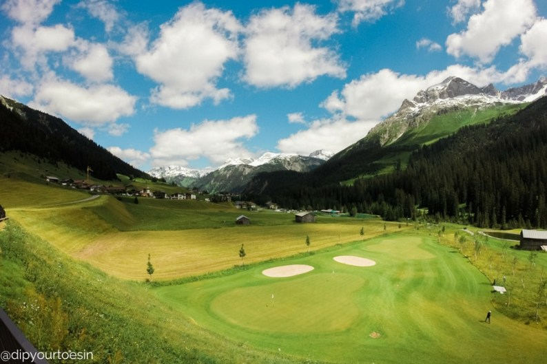 Golf Course, Lech, Arlberg, Austria Alps, Alternative summer destinations