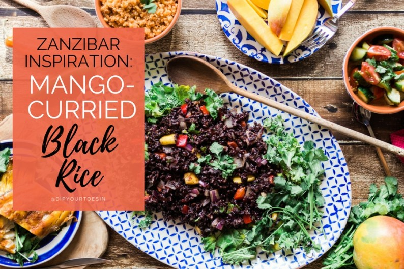 Mango-Curried Black Rice | HDYTI