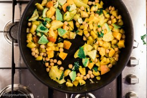 Mixture before adding water in Plantain Poached Egg Inspired by Chef Watson   via @dipyourtoesin