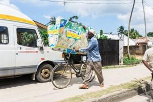 Locals in Stone Town, Zanzibar