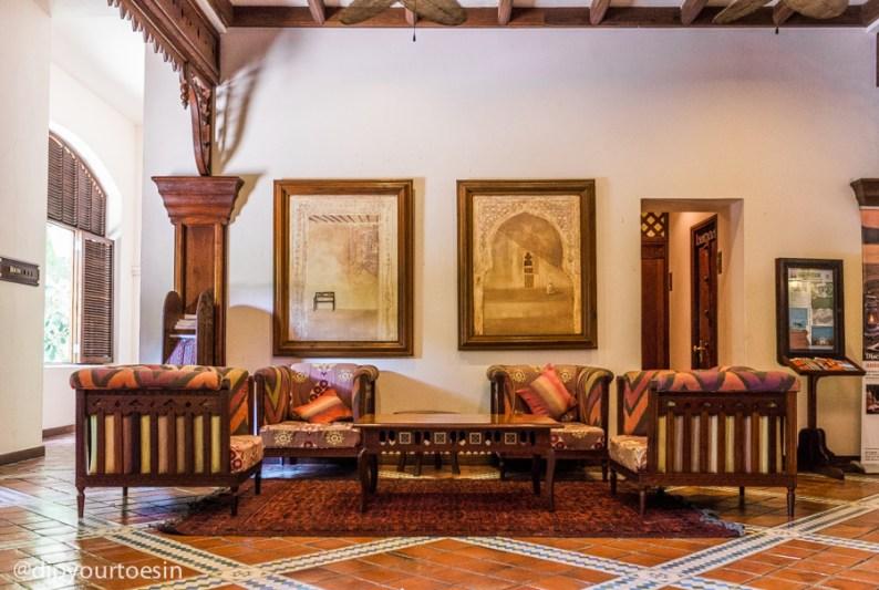 Main lobby at Zanzibar Serena Hotel, Shangani Street, Kelele Square
