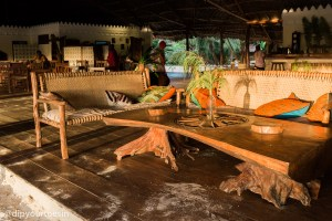 Locally made furniture at Hakuna Majiwe in Paje, Zanzibar | @dipyourtoesin