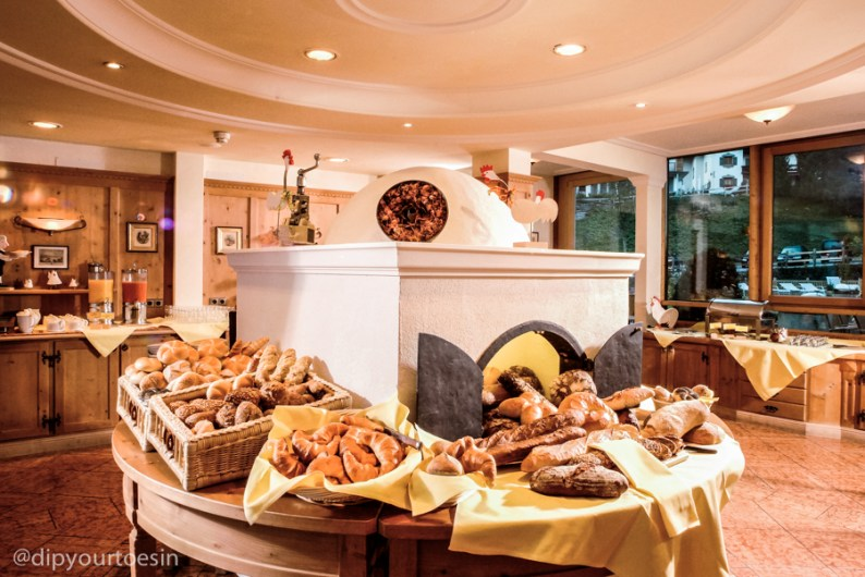 Bakery products at Hotel Gotthard, Lech, Austria by Taylormade PR