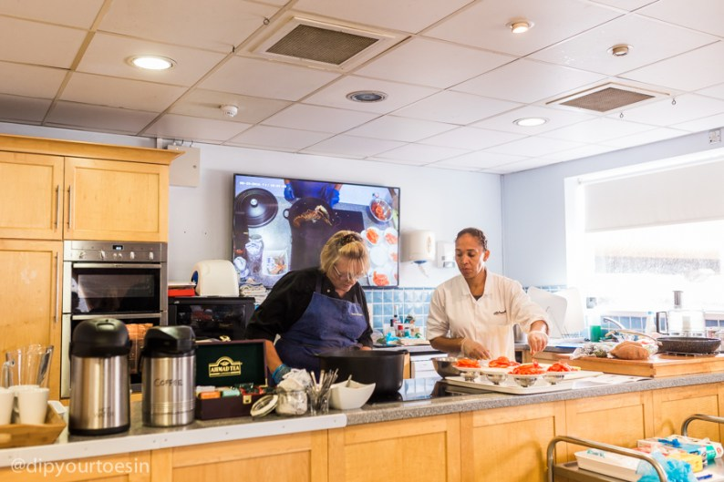 Billingsgate cooking class | via @dipyourtoesin