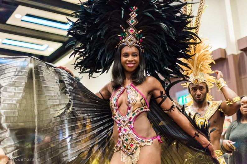Parabola Dance Brazil Carnival | UK Rum Festival 2016 Highlights