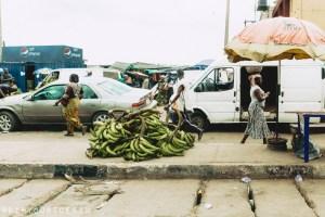 Weekly plantain market near Ikeja, Nigeria | via @dipyourtoesin