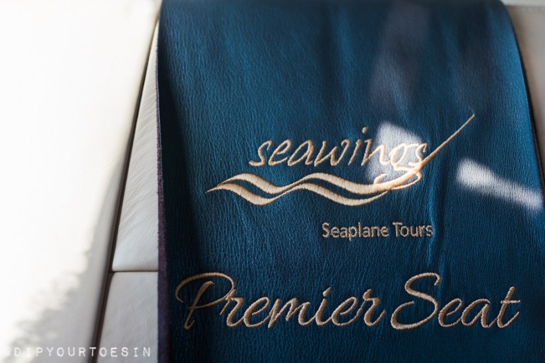 Premier Seats on Seawings Seaplane | @dipyourtoesin
