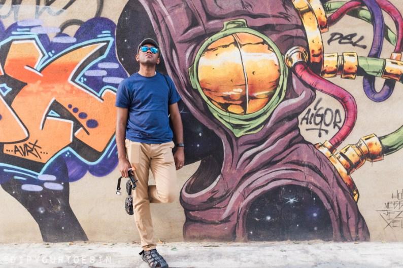 Deih | Walking Tour of Street Art in Valencia