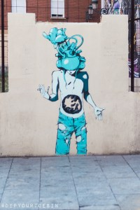 Deih   Walking Tour of Street Art in Valencia, Spain