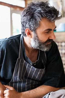 Albanian born Chef John Gionleka, Peckham Bazaar, London