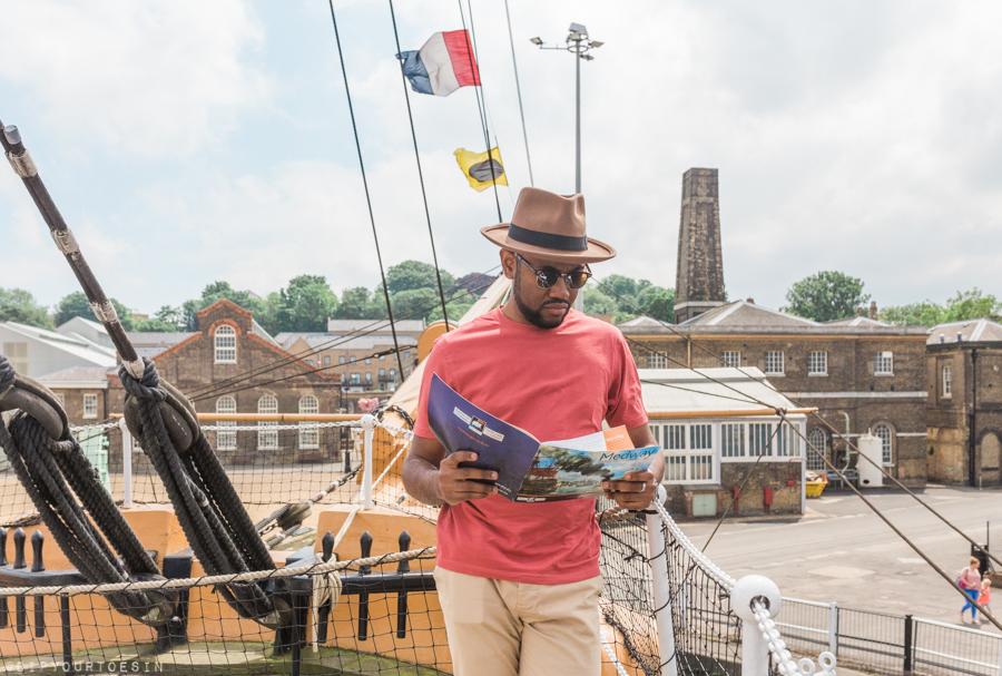 HMS Gannet, Historic Dockyard Chatham, Ket