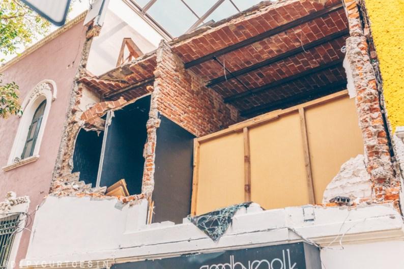 Earthquake in Mexico City