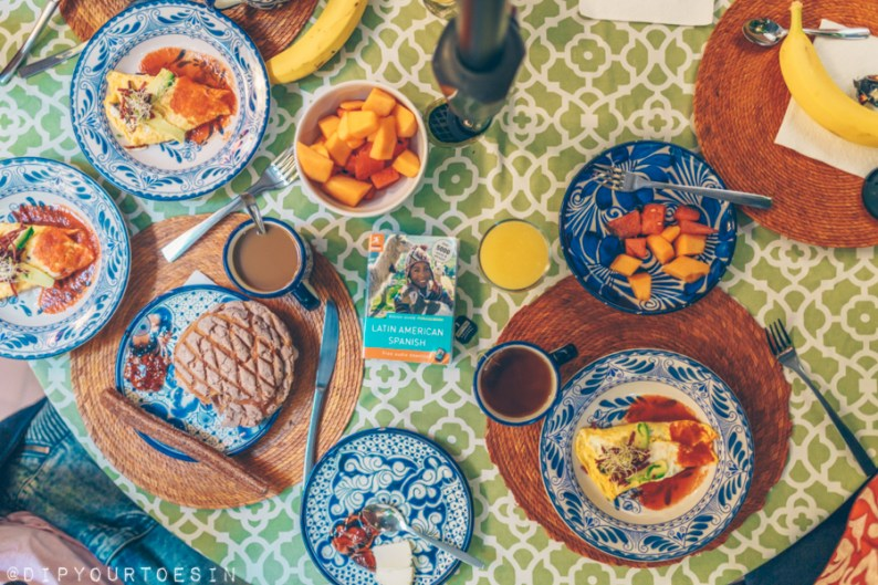 Breakfast at Red Tree House | La Condesa | Mexico City