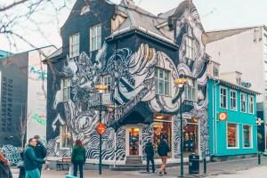 Travel Reykjavik Iceland, Street Art, Walking Tour