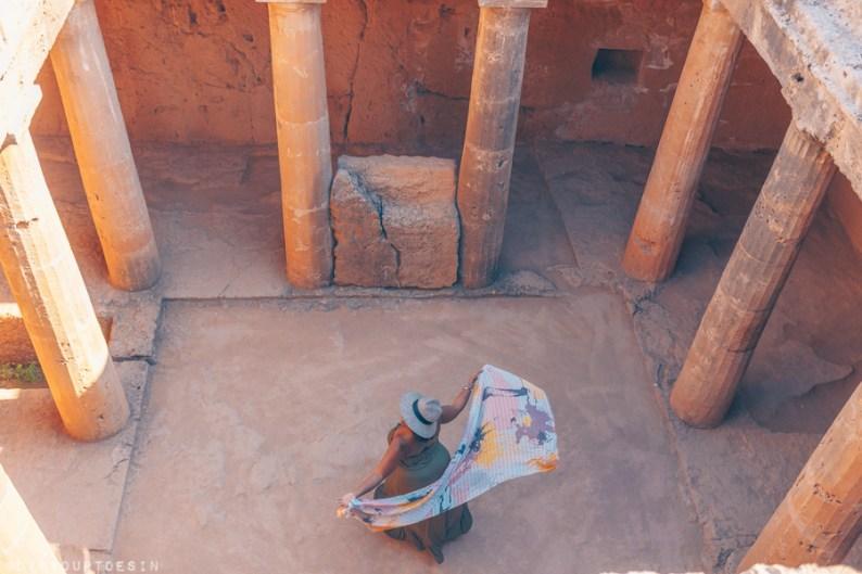 Tombs of Kings, Paphos Cyprus