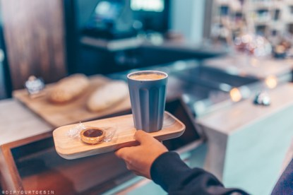 Grabbing a Coffee at Roomzzz Stratford, East London