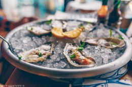 Fresh Oysters at Oyster Box   Jersey The Island Break