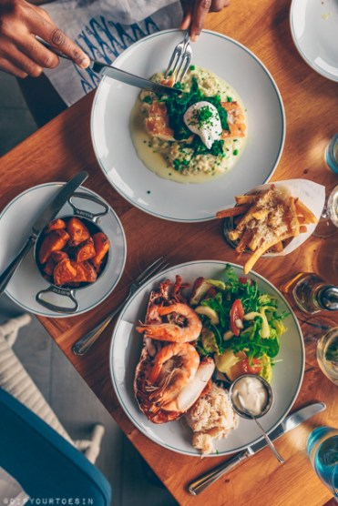 Seafood at Oyster Box | Jersey The Island Break