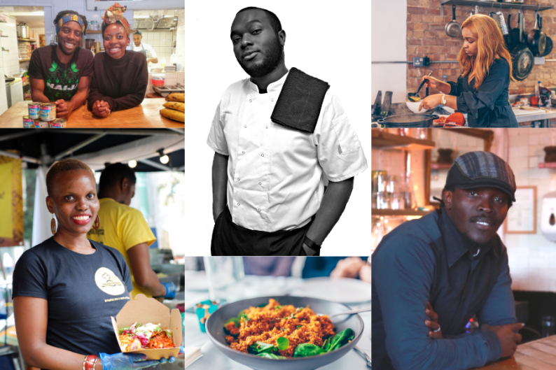 Five chefs from West Africa showcasing West African food in London