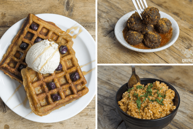 Plantain waffles from Chuku's | West African Food in London