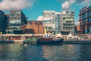 Canal view of HafenCity | Hamburg photo journal