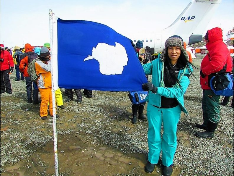 Woni Spotts, Antarctica | First Black Woman to Travel To Every Country in the World
