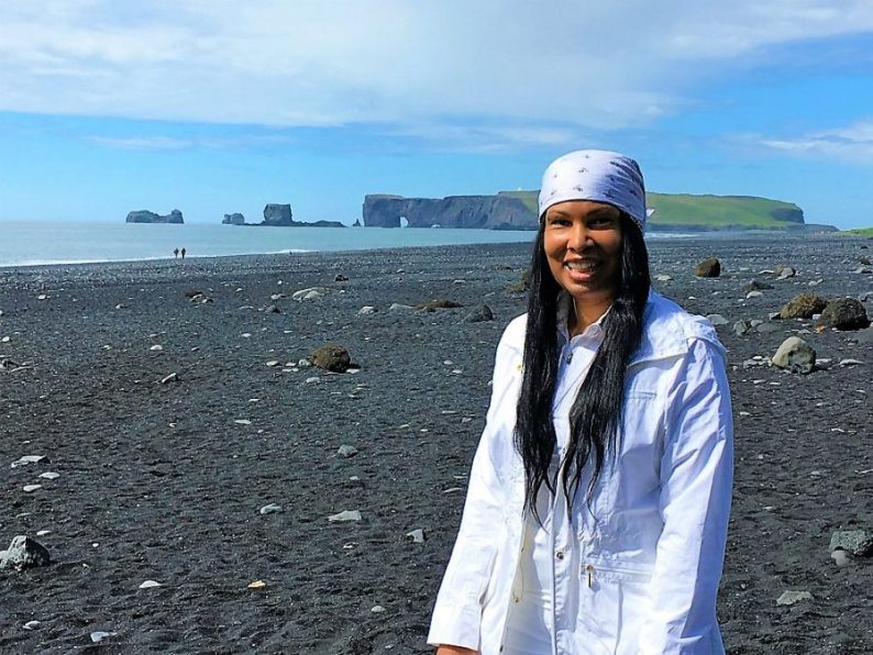 Woni Spotts Iceland | First Black Woman to Travel To Every Country in the World