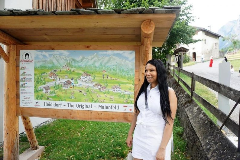 Woni Spotts Switzerland | First Black Woman to Travel To Every Country in the World?