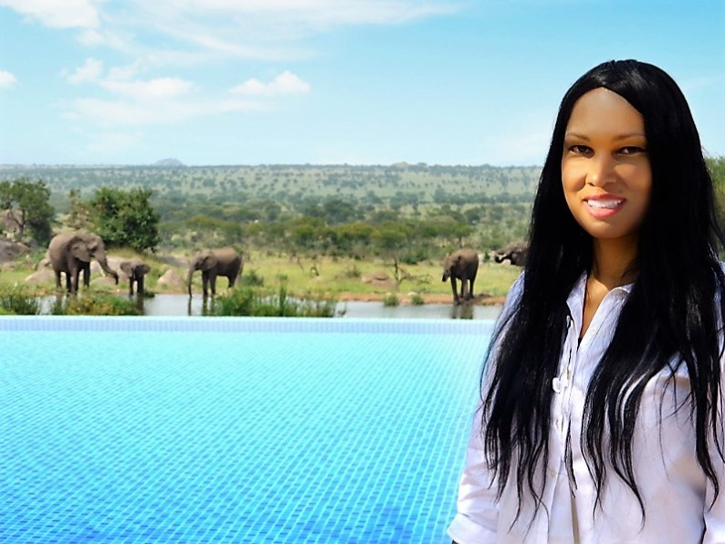 Woni Spotts Tanzania | First Black Woman to Travel To Every Country in the World